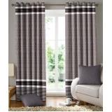 limpeza cortinas tecido Residencial Doze